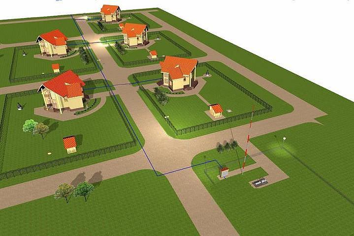 Автономное газоснабжение для коттеджных поселков.