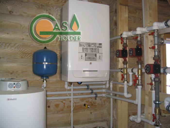 Монтаж котлов отопления в частном доТрубы и